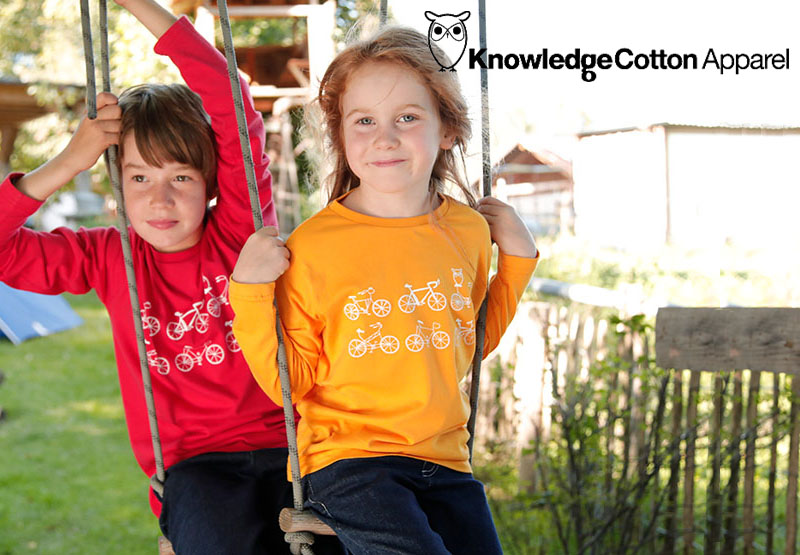 Kindermode der Marke Knowledge Cotton Apparel