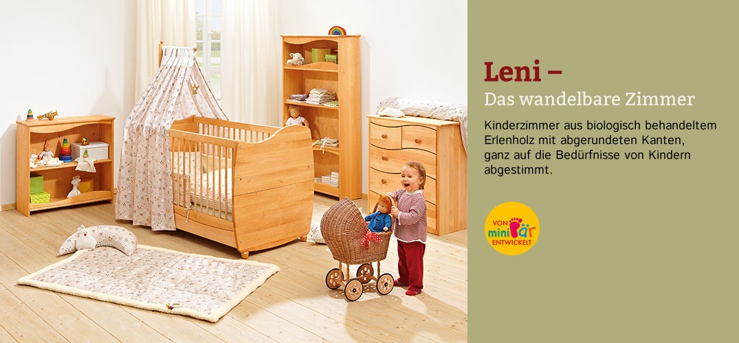 kinderzimmer leni erlenholz im waschb r shop bestellen. Black Bedroom Furniture Sets. Home Design Ideas