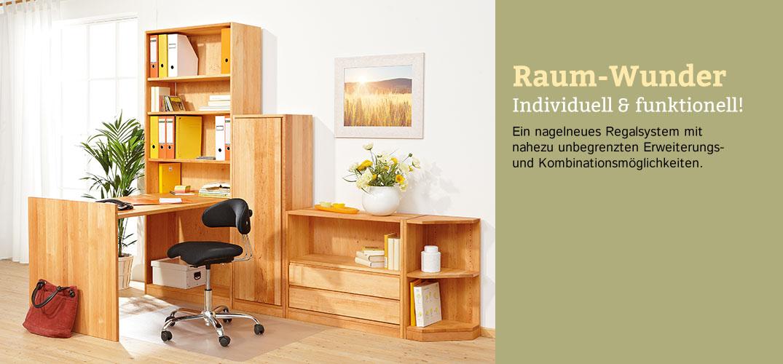 8240ea9021a25d Regalsystem Erlenholz im Waschbär Shop bestellen