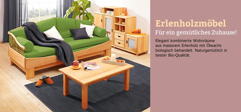 6a304920b6db26 Möbelserien aus Erlenholz im Waschbär Shop bestellen