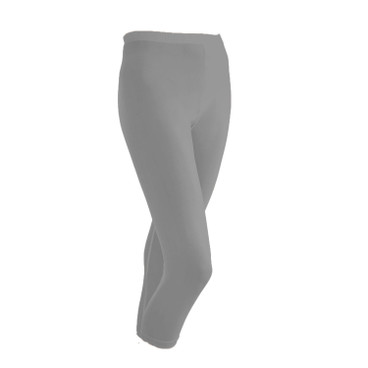 3/4-Seiden-Leggings, platin