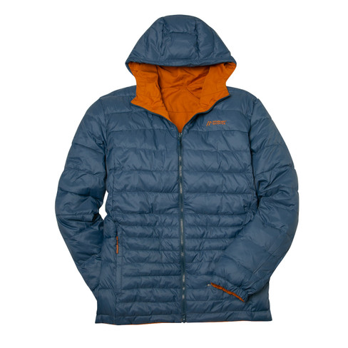 Wendejacke Herren mit Wattierung, orange