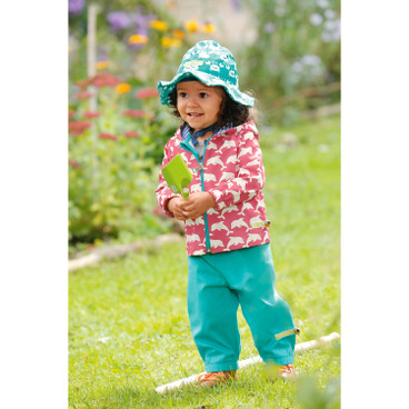 Baby-Outdoorhose Bionic-Finish Eco, koralle