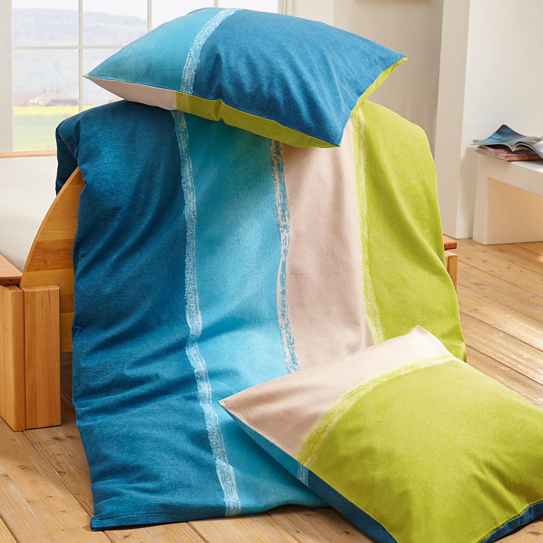 bio renforce bettw sche t rkis gr n. Black Bedroom Furniture Sets. Home Design Ideas