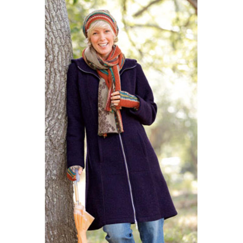 Mantel bio wolle