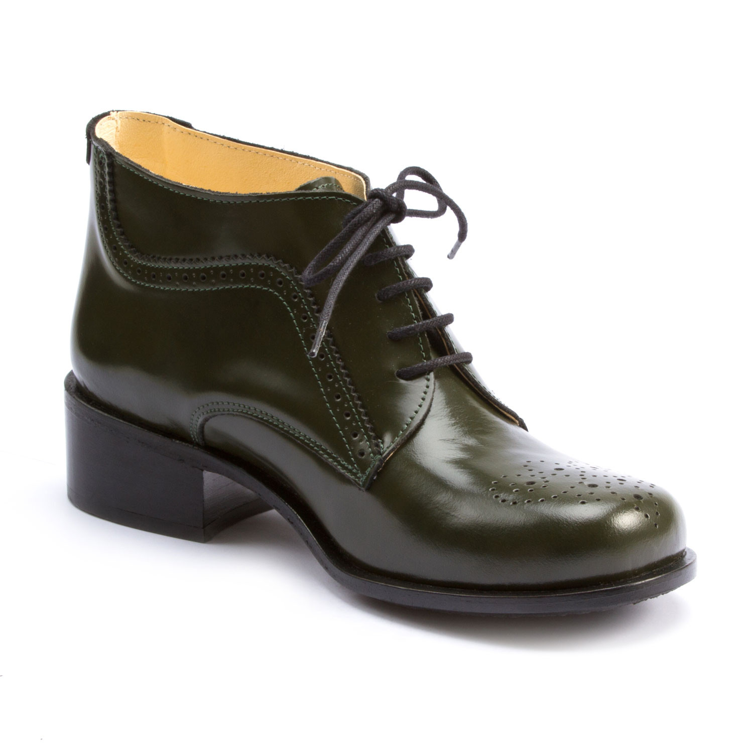 Ankle-Boot, olive