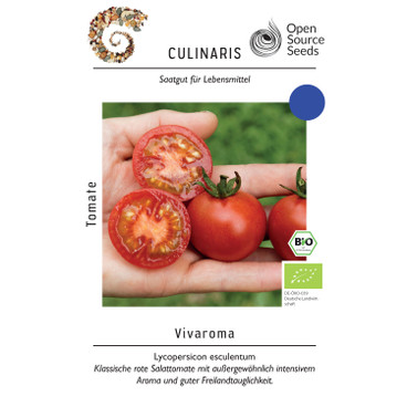 Open-Source-Saatgut Tomate Vivaroma
