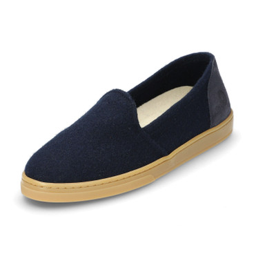 Woll-Slipper WOOL LOAFER, blau