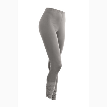 7/8-Seiden-Leggings, platin