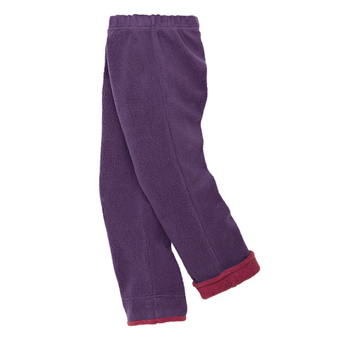 minibär DESIGN Hose aus Bio Fleece, lila | Waschbär