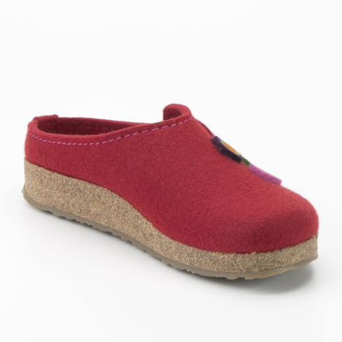 "Pantoffel ""Grizzly"", rot"