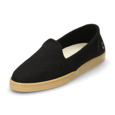 Woll-Slipper WOOL LOAFER, Schwarz