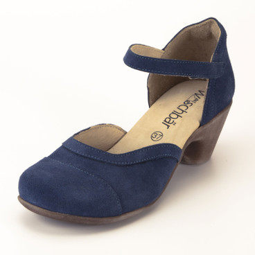 Pumps, indigo