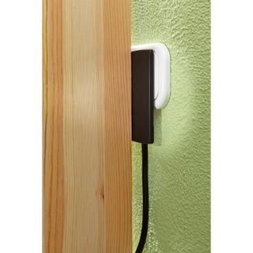 verl ngerungskabel mit flachstecker waschb r. Black Bedroom Furniture Sets. Home Design Ideas
