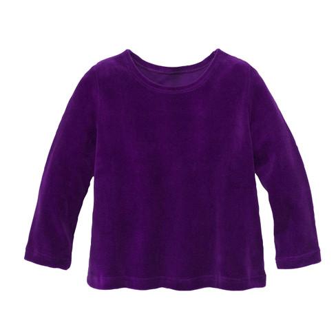 minibär DESIGN Nicki Pullover aus Bio Baumwolle, lila | Waschbär