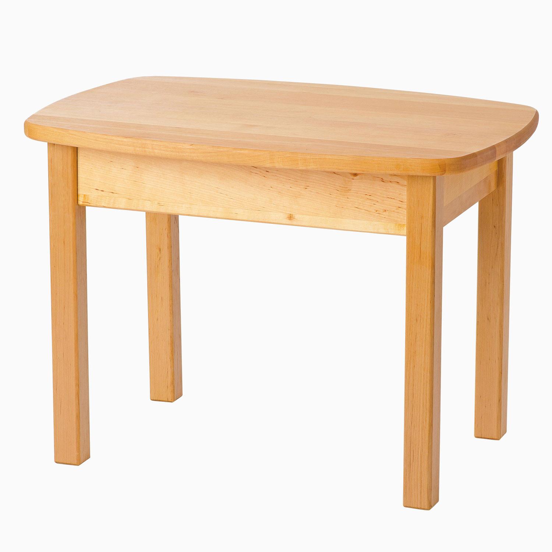 Kindertisch aus erlenholz for Kindertisch mit sta hlen