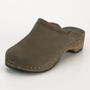 Clog, taupe