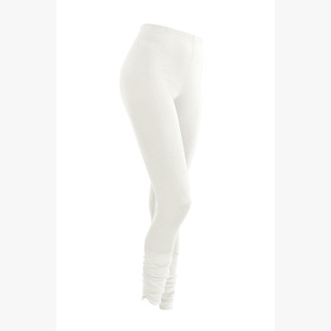 7/8-Seiden-Leggings, natur