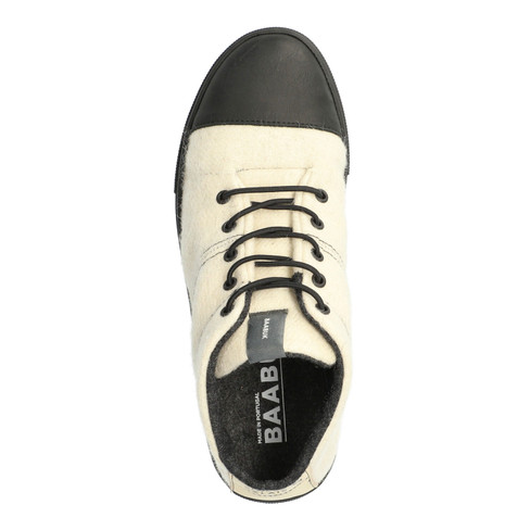 "Sneaker ""Black Nose"", offwhite"
