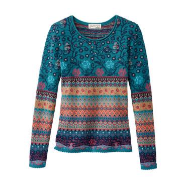 1309c3de806b5e Damen   bunte Jaquard Mode im online Shop Waschbär