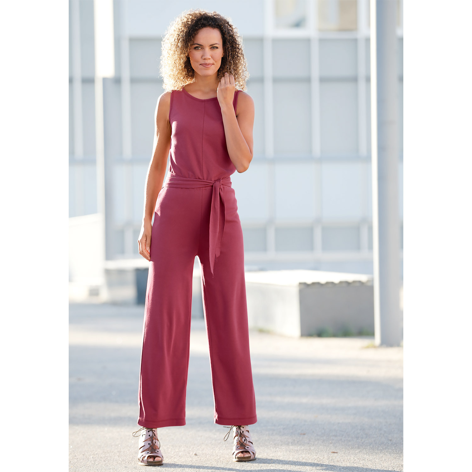 Jersey-Overall, beere