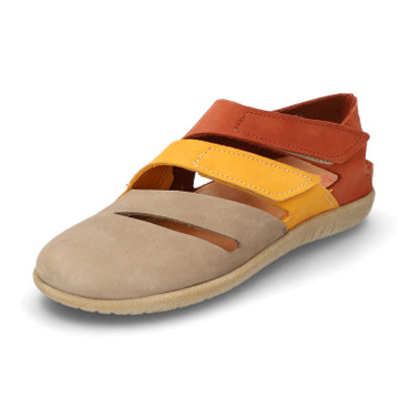 Sandale BOSTON, taupe/multicolor