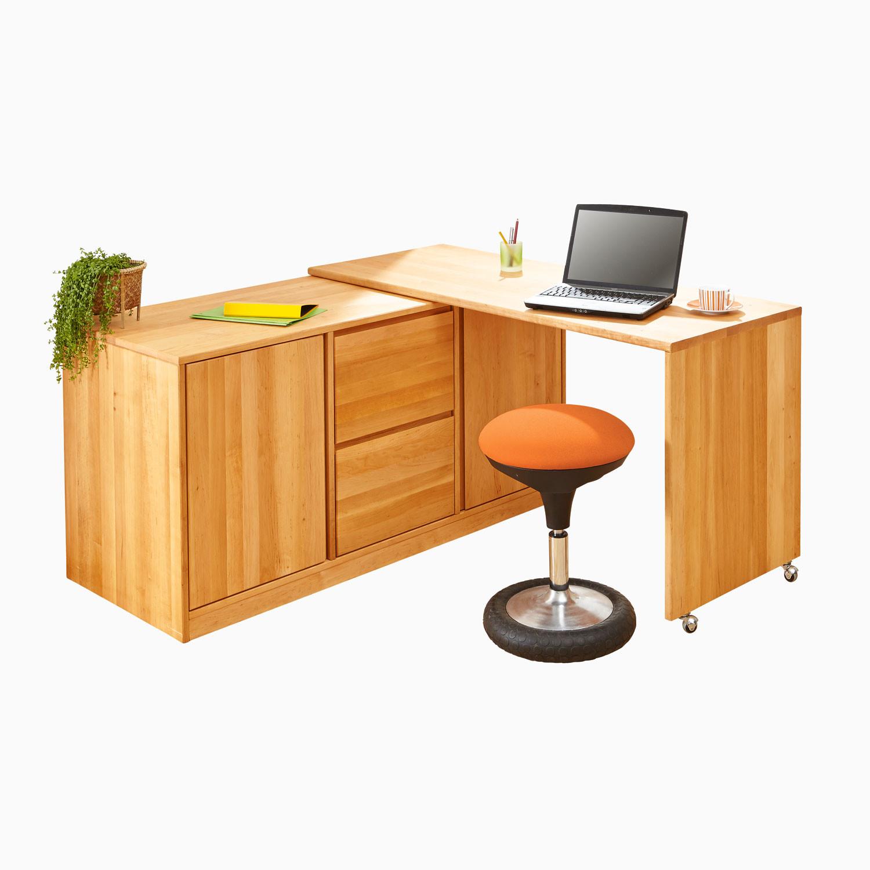Schreibtisch Kommode Aus Erlenholz Waschbar