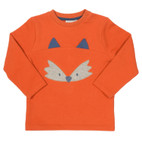Sweat-Pullover Fuchs, orange