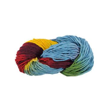 Strickwolle, multicolor bunt