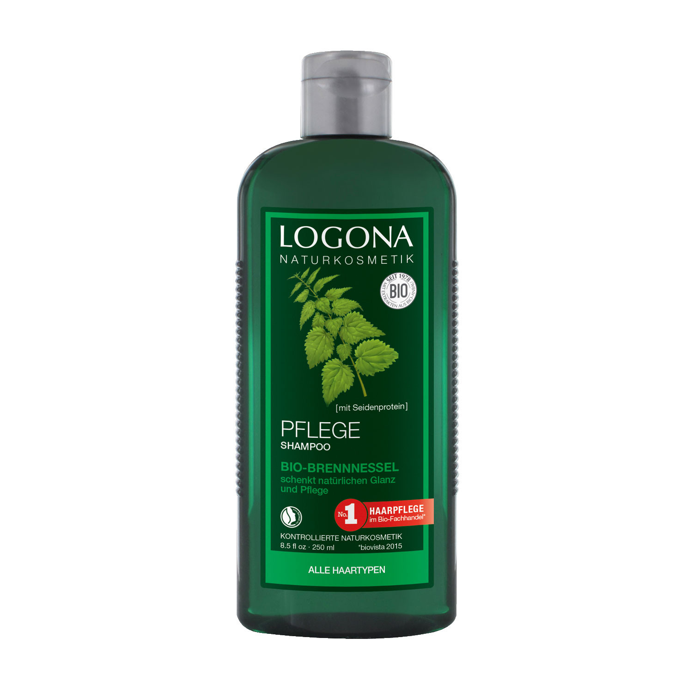 logona pflege shampoo bio brennnessel 250 ml. Black Bedroom Furniture Sets. Home Design Ideas
