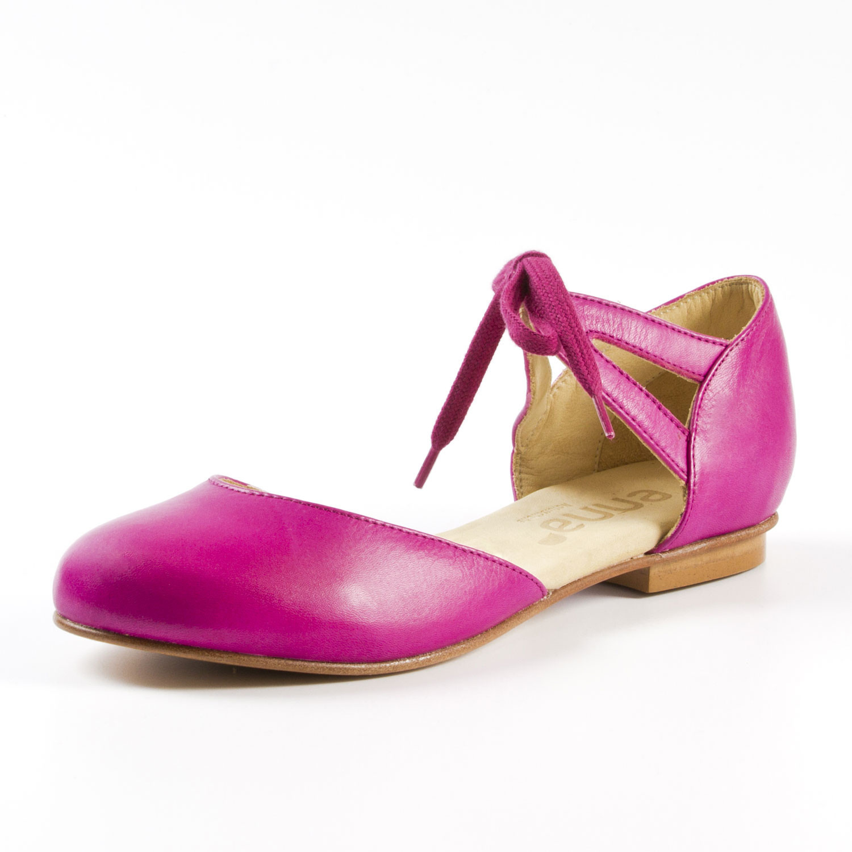hot sales 75df6 df4b5 Riemchen-Ballerina, pink