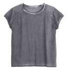 Shirt 1/2 Arm, grau