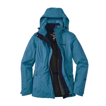 "Damen Funktionsjacke ""Metor Therm"", türkis"