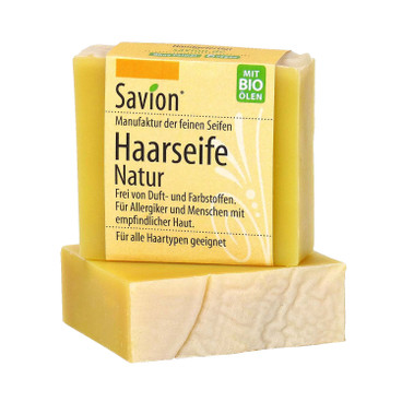 Haarseife Natur ohne Duftstoffe, 85 g