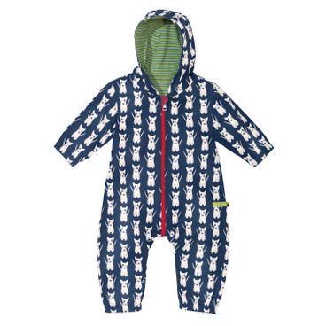 Baby-Outdooroverall Bionic-Finish Eco, blau