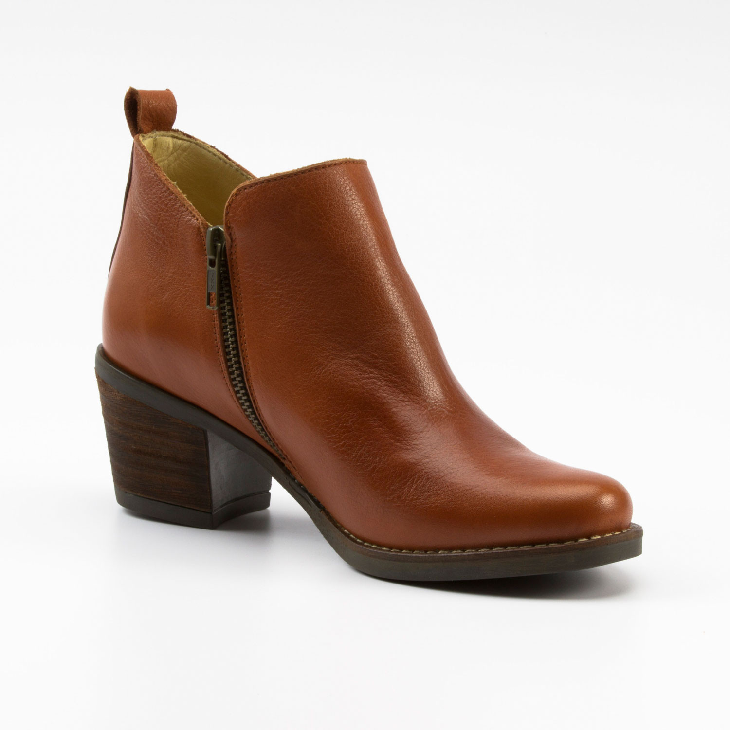 Bio-Ankle-Boot, ziegel