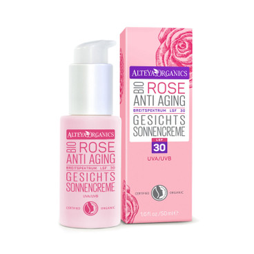 Bio-Rose Anti Aging Gesichts-Sonnencreme LSF 30, 50 ml