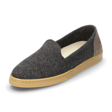 Woll-Slipper WOOL LOAFER, grau