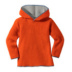 Kapuzenpullover, orange