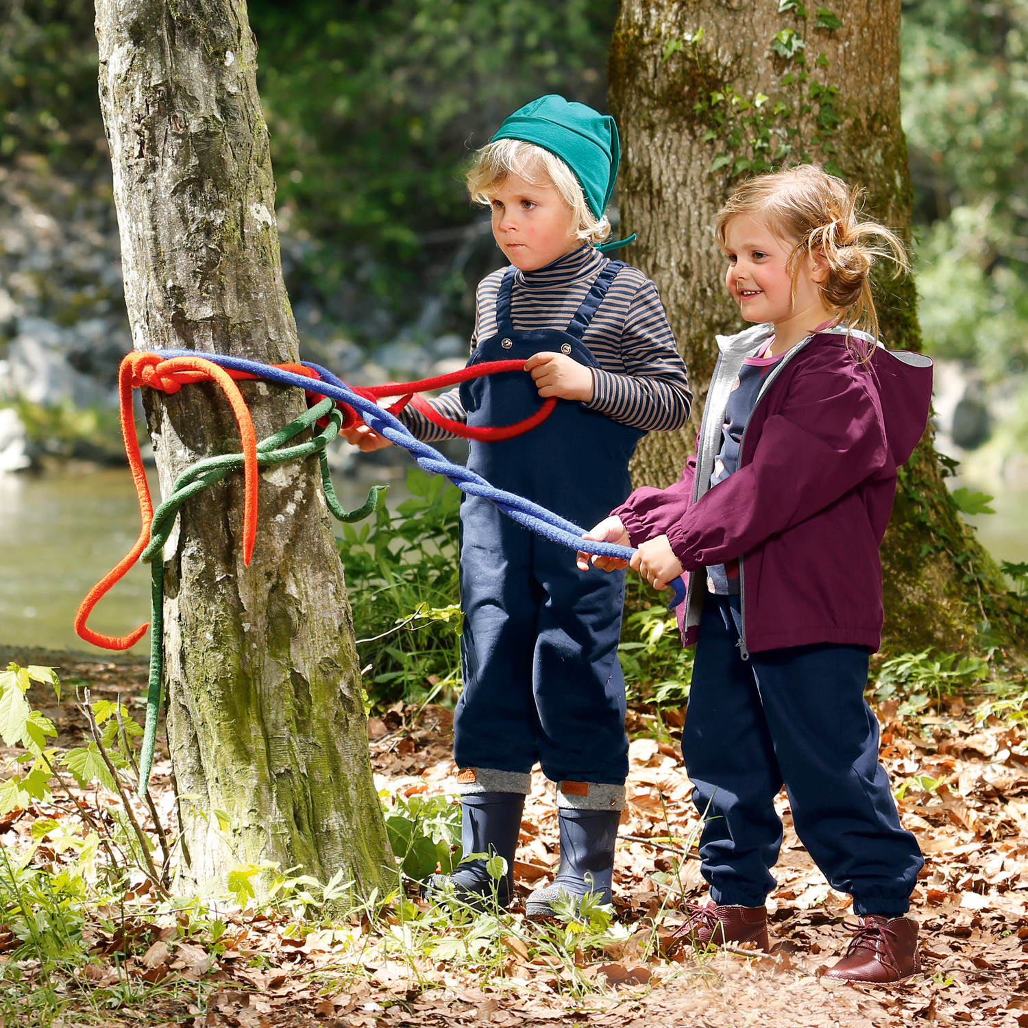 Outdoor-Hose Bionic-Finish Eco, grasgrün